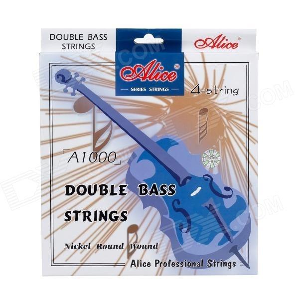 Alice A1000 kontrabasové struny sada