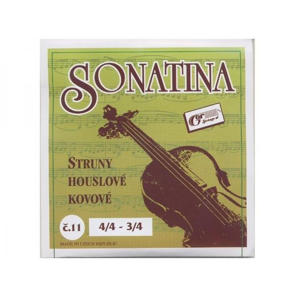 Gorcik 11 Sonatina D struna husle