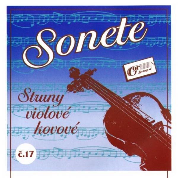 Gorcik 17 Sonete G struna viola