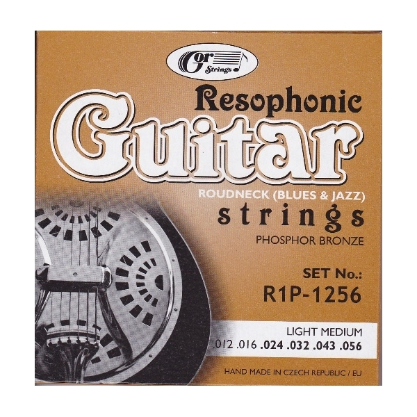 Gorcik R1P-1256 Resophonic struny gitar