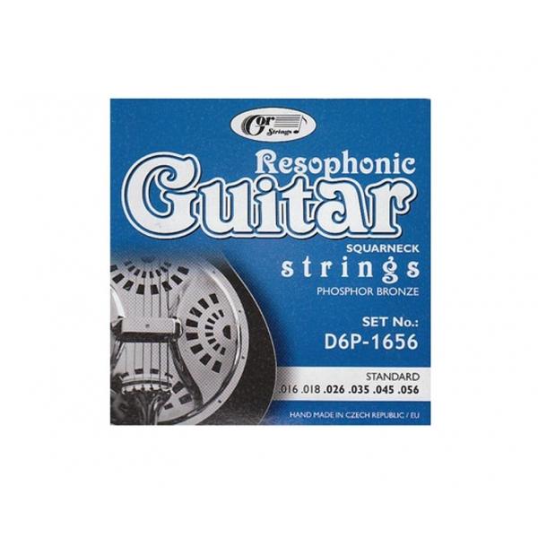 Gorcik D6P-1656 Resophonic struny gitar
