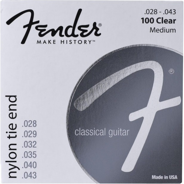 Fender 072-0100-032 H Nylon Clear