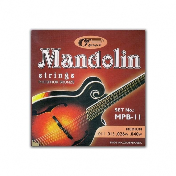 Gorcik MPB-11 mandolina sada struny 11/