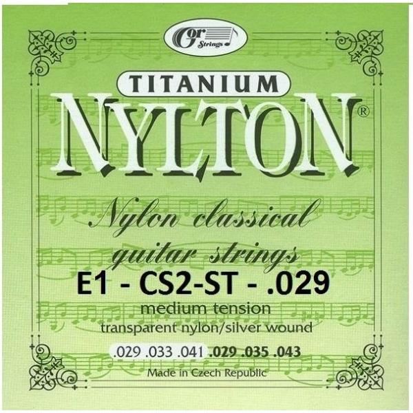 Gorcik CS2-ST E1 Nylton-Titanium struna