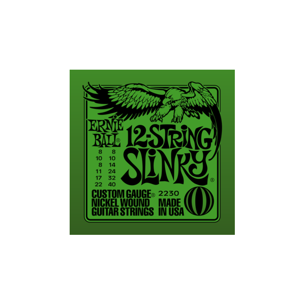 Ernie Ball 2230 12-string Nickel Wound