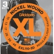 D'Addario EXL110-3D sada .010 struny el. gitara 3