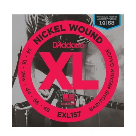 D'Addario EXL157 sada el.gitara 14-68 bary