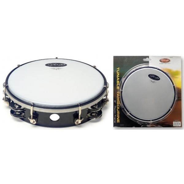 Stagg TAB-208P tamburina 8 BK
