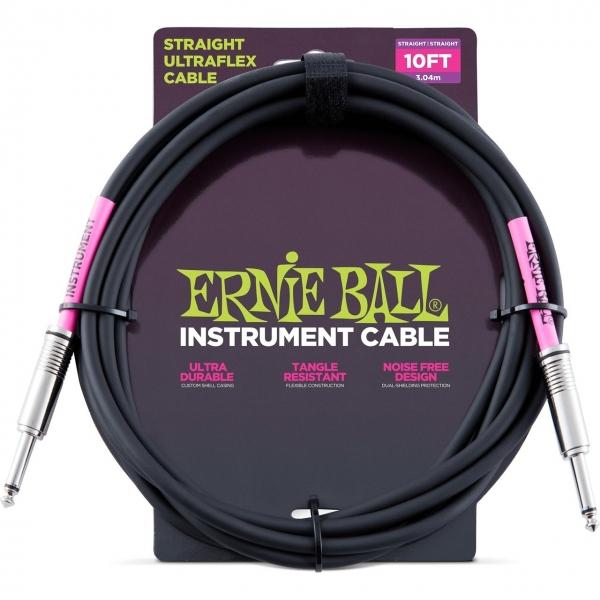 Ernie Ball 6048 nástroj. kábel 3m J-J