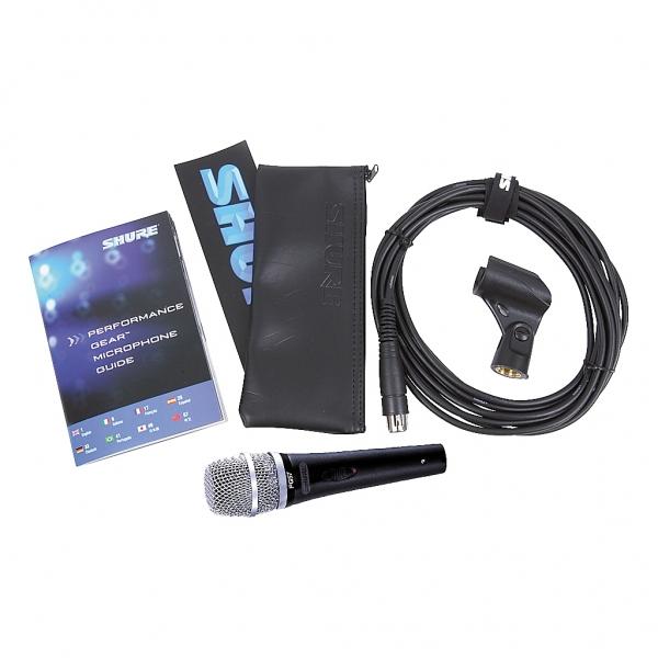 Shure PG57XLR dynamicky nastr.mikrofon