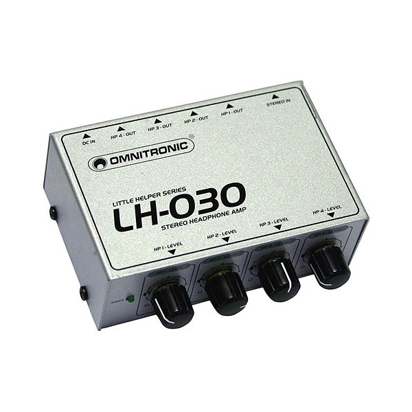 Omnitronic LH-030 4-kanalovy mini-mixer