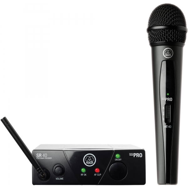AKG WMS40 MINI Vocal set (SR40 mini, HT40 mini)