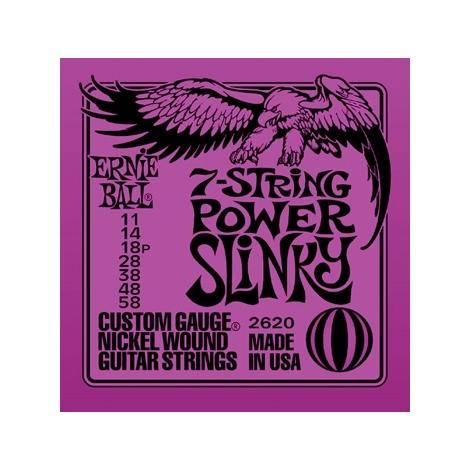 Ernie Ball 2620 Power Slinky 7-string