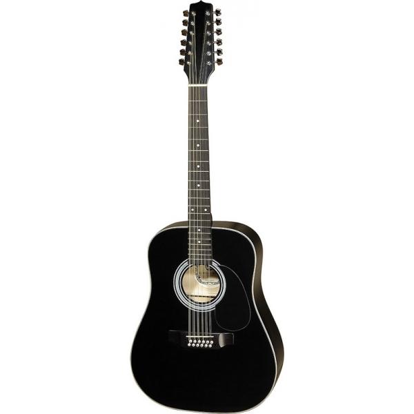 Hora W12205C EQ12-str. BK gitara