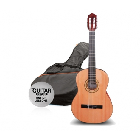 Ashton SPCG44BR gitara pack Molina