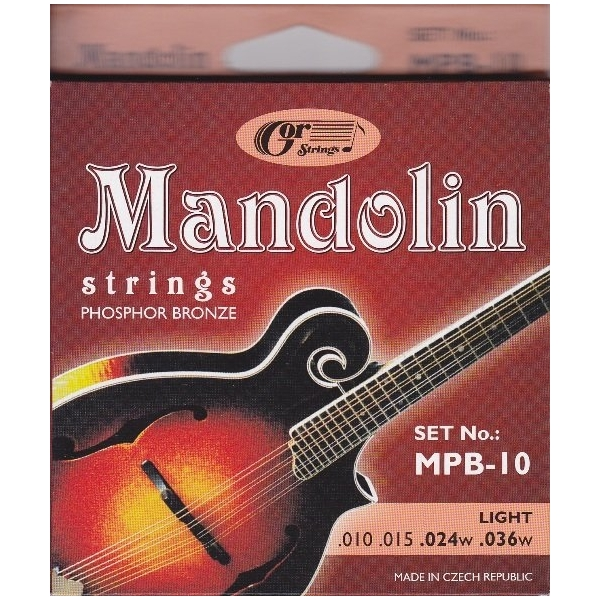 Gorcik MPB-10 mandolina sada struny 10/