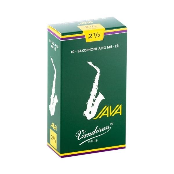 Vandoren Java 2,5 plátok Alt sax SR2625