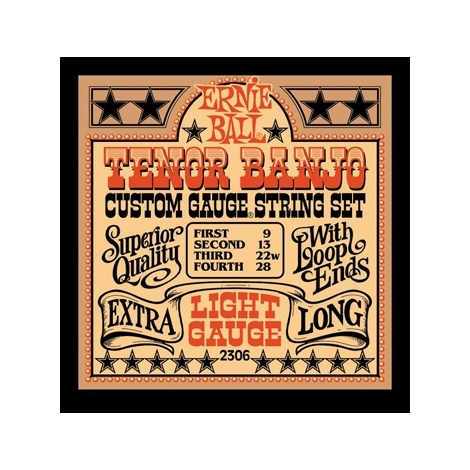 Ernie Ball 2306 Light Loop End Tenor Banjo