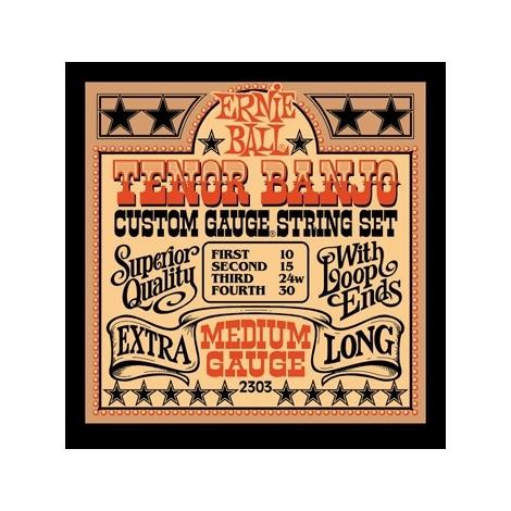 Ernie Ball 2303 Medium Loop End Tenor Banjo