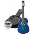 Ashton SPCG14TBB klas. gitara 1/4 pack
