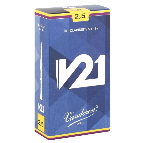 Vandoren CR8025 V21 B-klarinet plátok 2.5