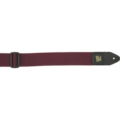 Ernie Ball 4047 Burgundy Polypro strap