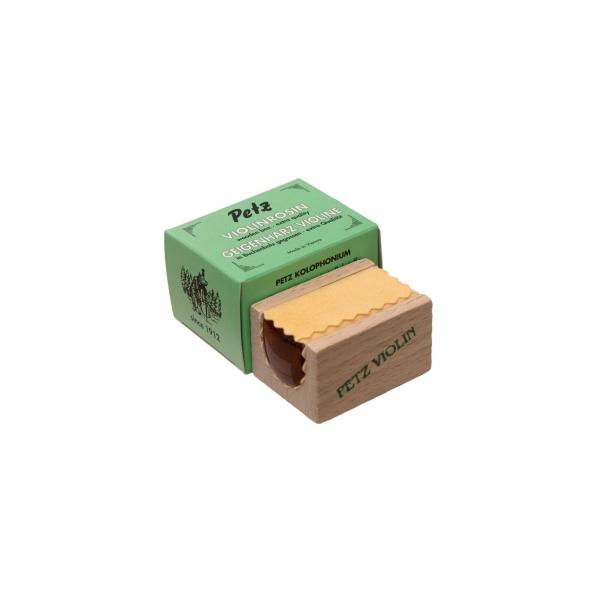 Petz 5340 kolofónia husle/viola Wooden pack