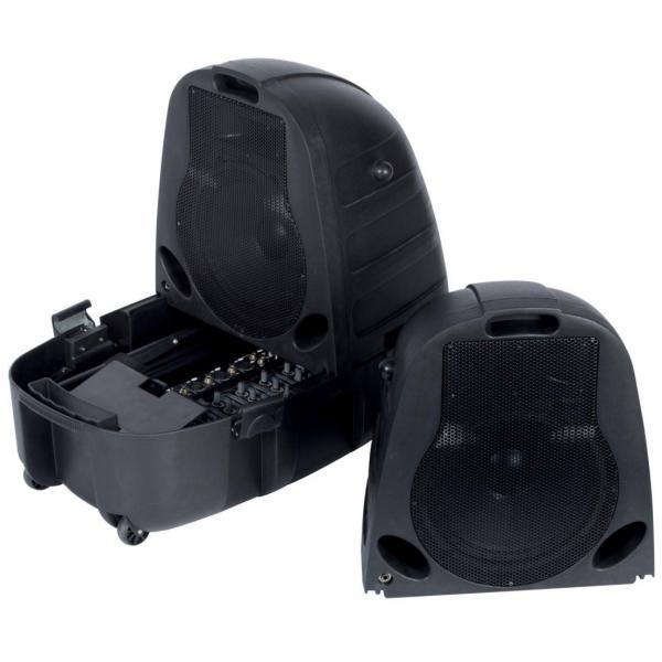 Velleman VDSSM5 Portable 2x75W DJ set