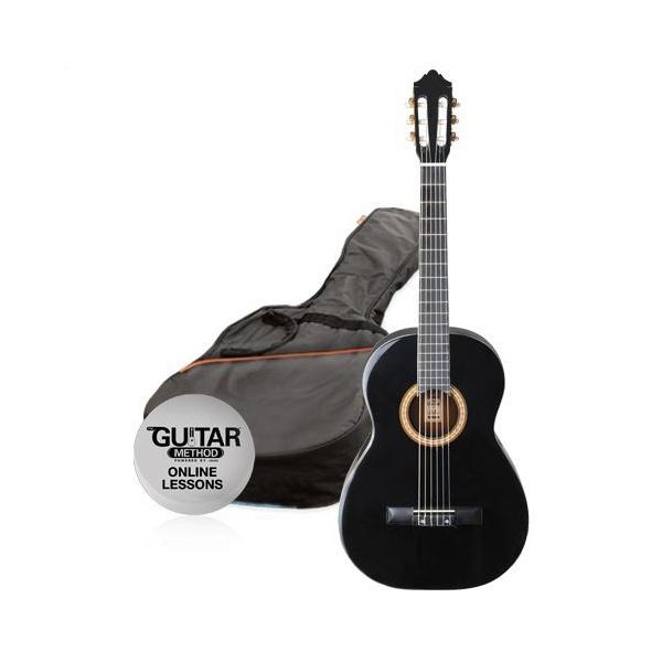 Ashton SPCG34 BK Guitar Pack