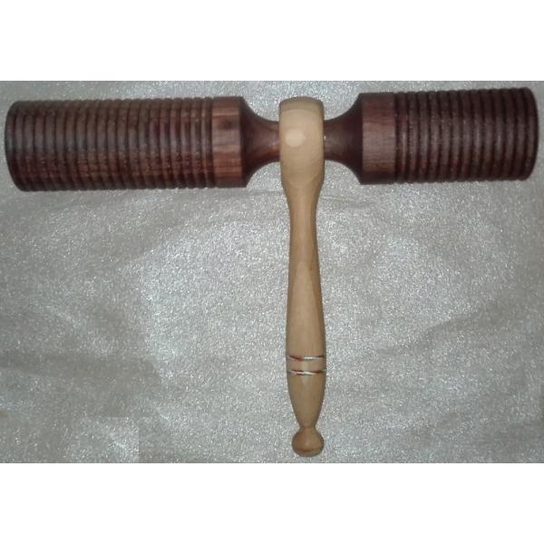 MadaHu Wooden Agogo Double