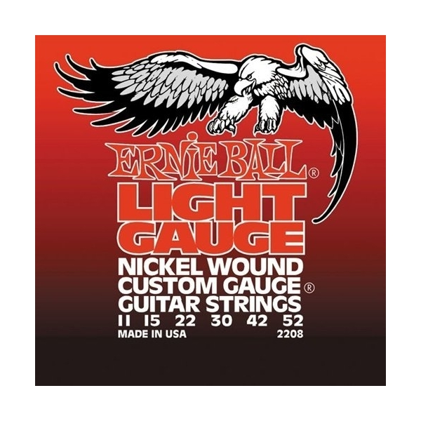 Ernie Ball 2208 Light Electric Nickel
