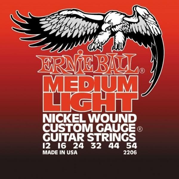 Ernie Ball 2206 Medium Light Electric Nickel