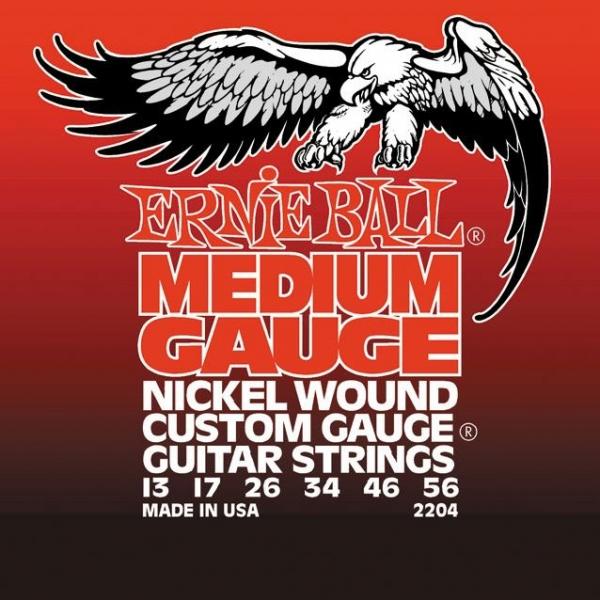 Ernie Ball 2204 Medium Electric Nickel