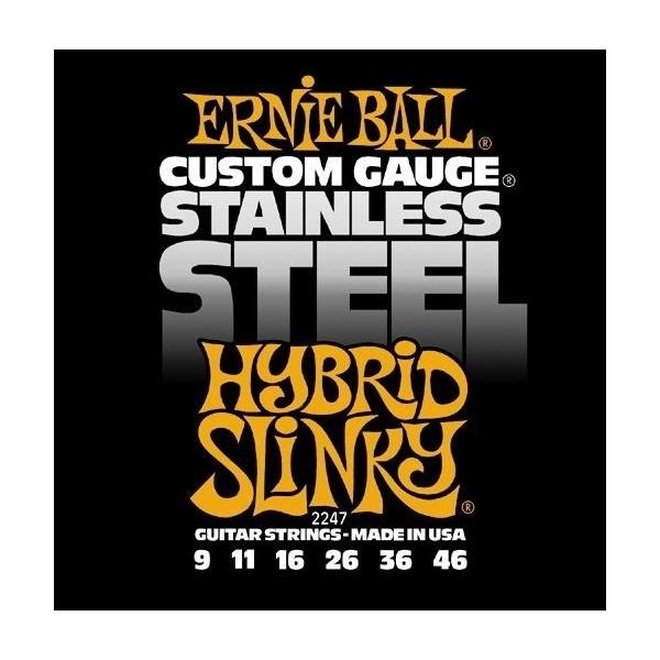 Ernie Ball 2247 Stainless Steel Hybrid Slinky