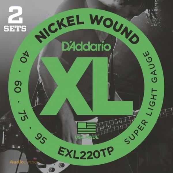 D'ADDARIO EXL220TP