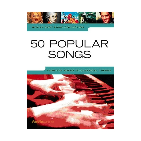 MS Really Easy Piano: 50 Popular Songs