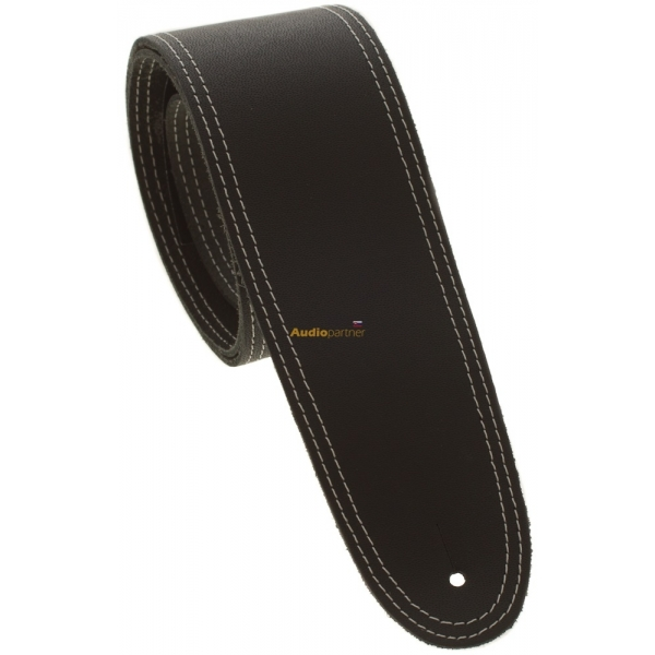 PERRI'S LEATHERS 175 Double Stitched Leather Black