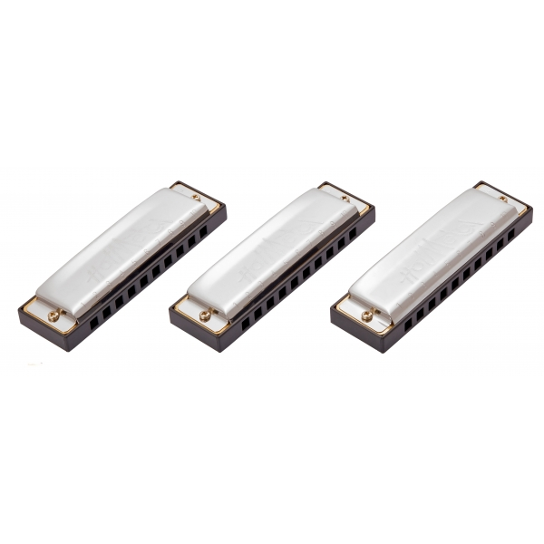 HOHNER Hot Metal ValuePack (C-, G-, A-major)