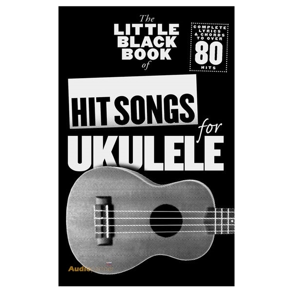 MS The Little Black Book Of Hit Songs For Ukulele