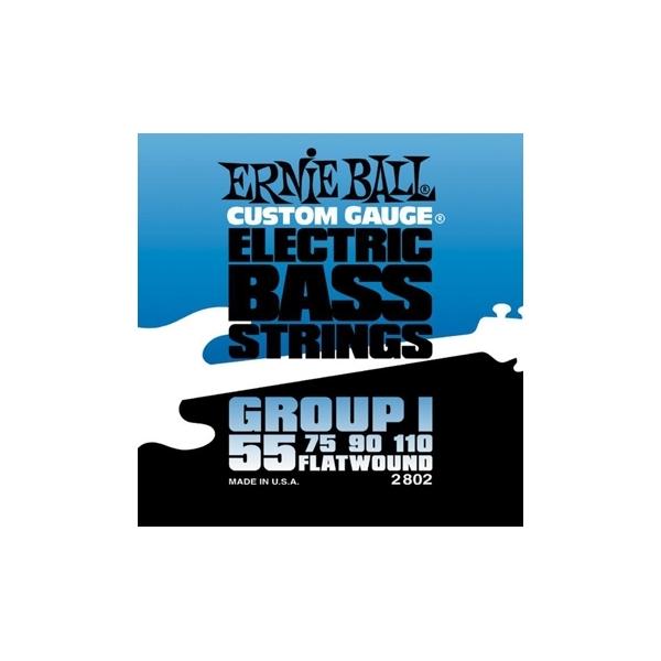 Ernie Ball 2802 Flatwound Group I