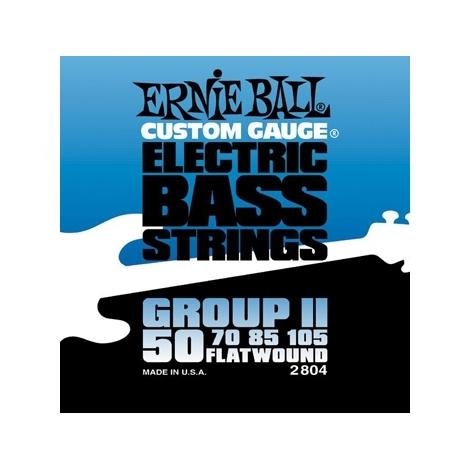Ernie Ball 2804 Flatwound Group II