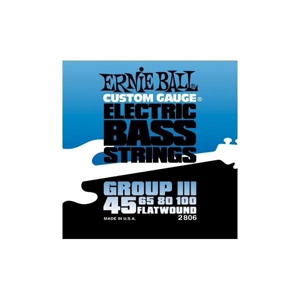 Ernie Ball 2806 Flatwound Group III