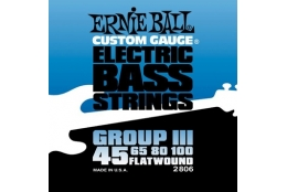Ernie Ball 2806 Flatwound Group III