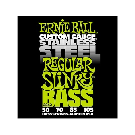 Ernie Ball 2842 Regular Slinky Stainless Steel