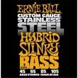 Ernie Ball 2843 Hybrid Slinky Stainless Steel