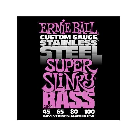 Ernie Ball 2844 Super Slinky Stainless Steel