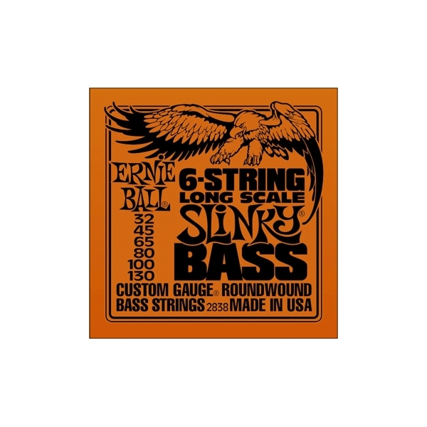 Ernie Ball 2838 Long Scale Slinky 6-string