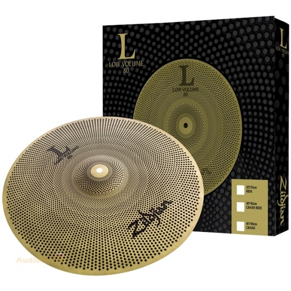 "ZILDJIAN L80 18"" Low Volume Crash Ride"