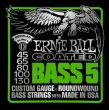 Ernie Ball 3836 Bass 5-string Slinky Coated