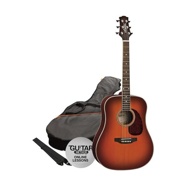 Ashton D25 TSB Guitar Pack